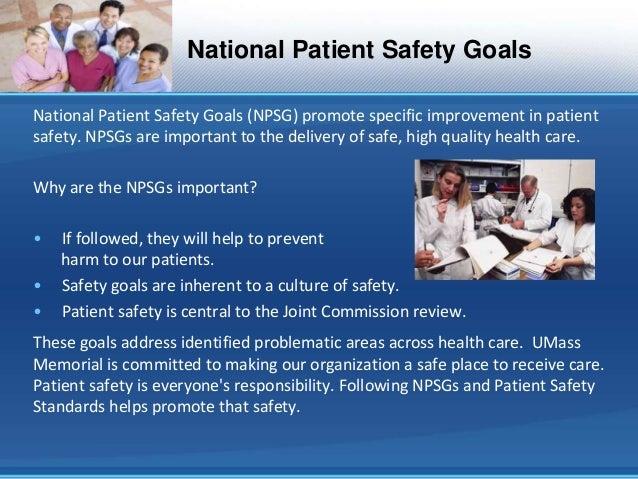 patient safety nursing documentation