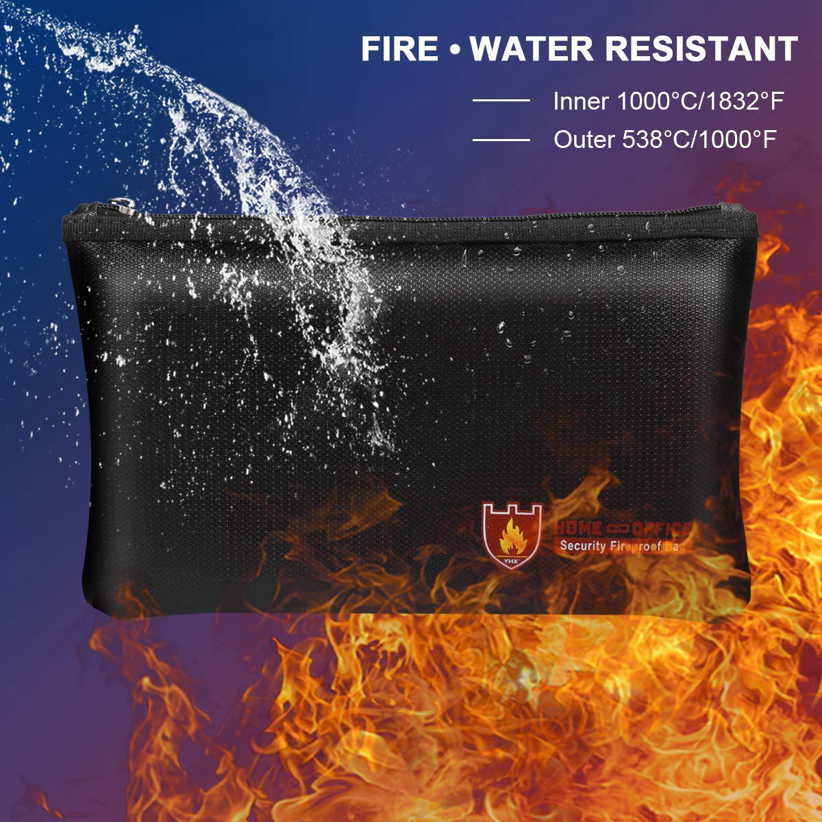 fireproof document bag by floods