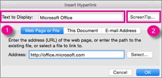 display the help document insert wordart