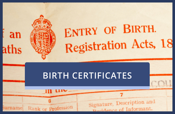 cant find original document only a certified copy