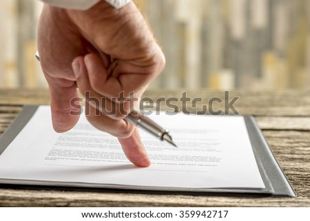 how to end a legal document