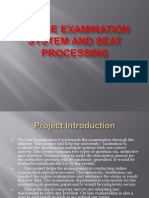 online quiz system project documentation