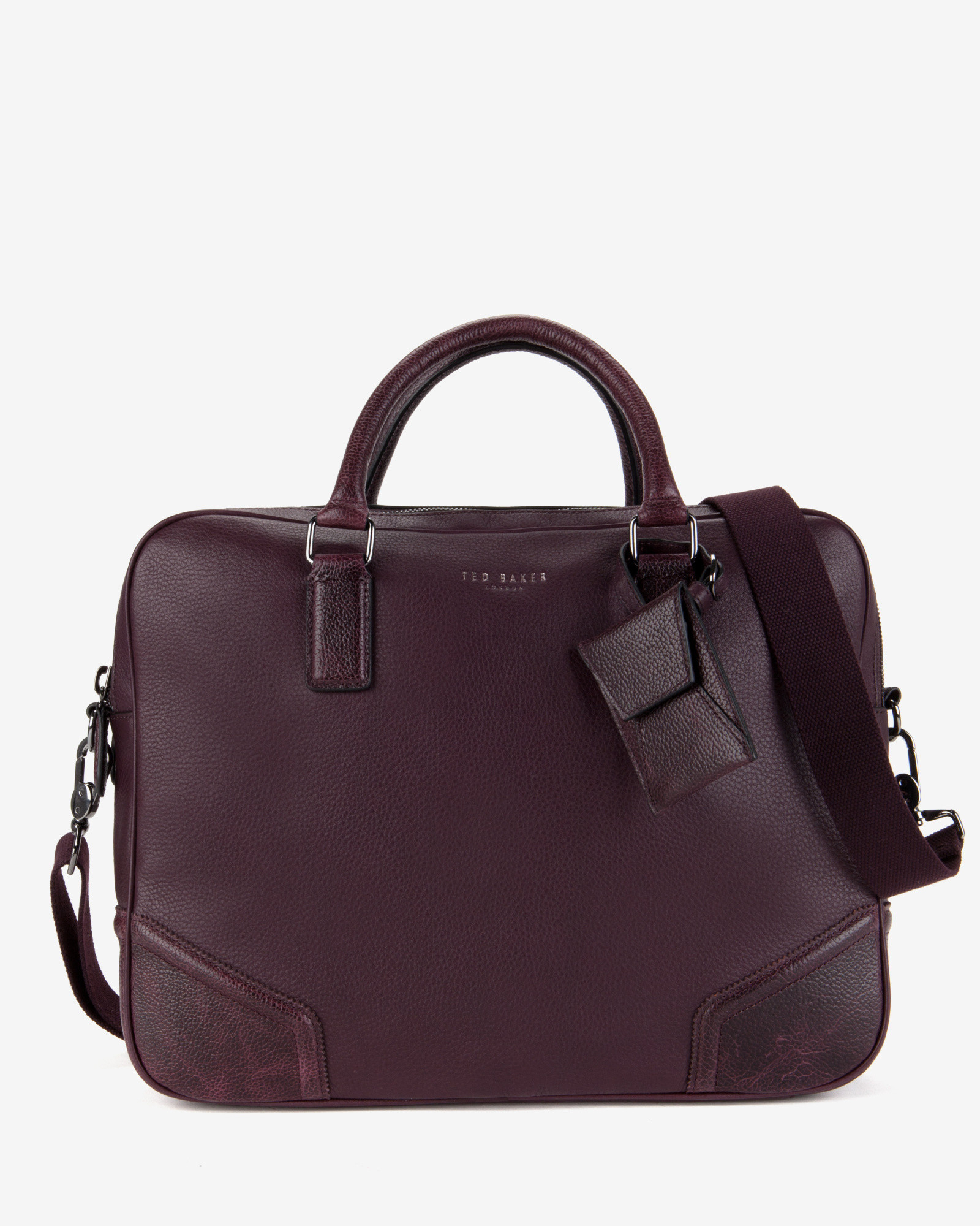 ted baker handhal document bag