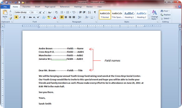 convert word document to form