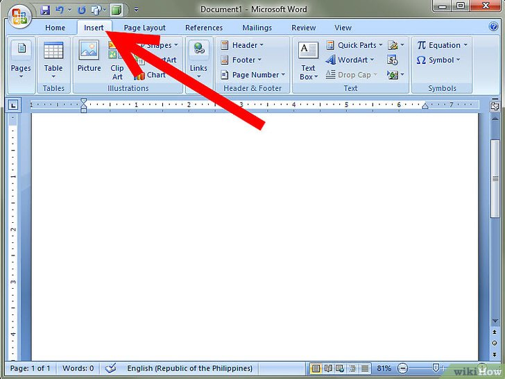 how to add writing lines to a word document