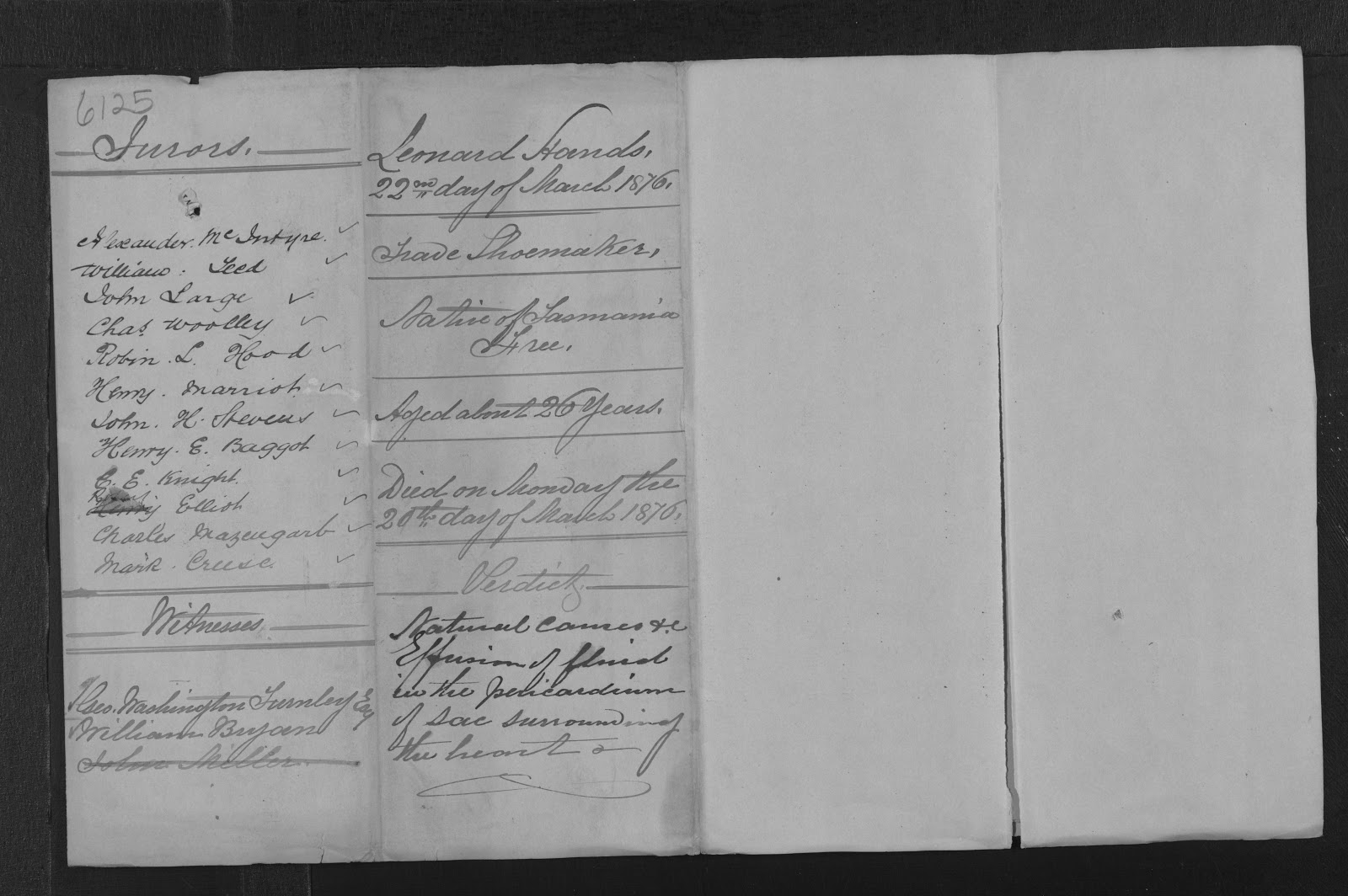 who can witness a document in tasmania