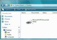 microsoft xps document writer file location