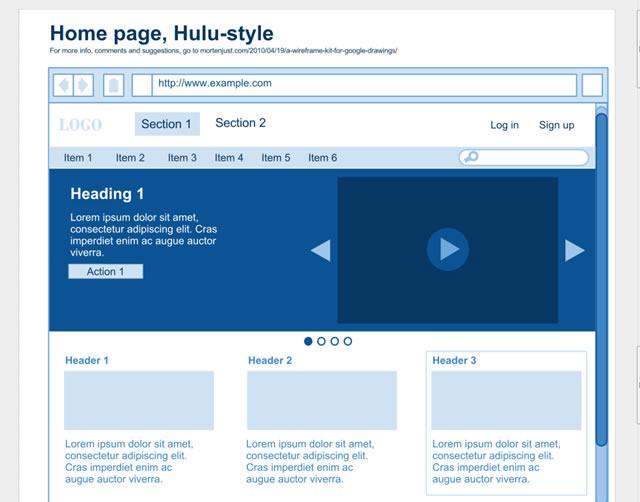 documentation for web site
