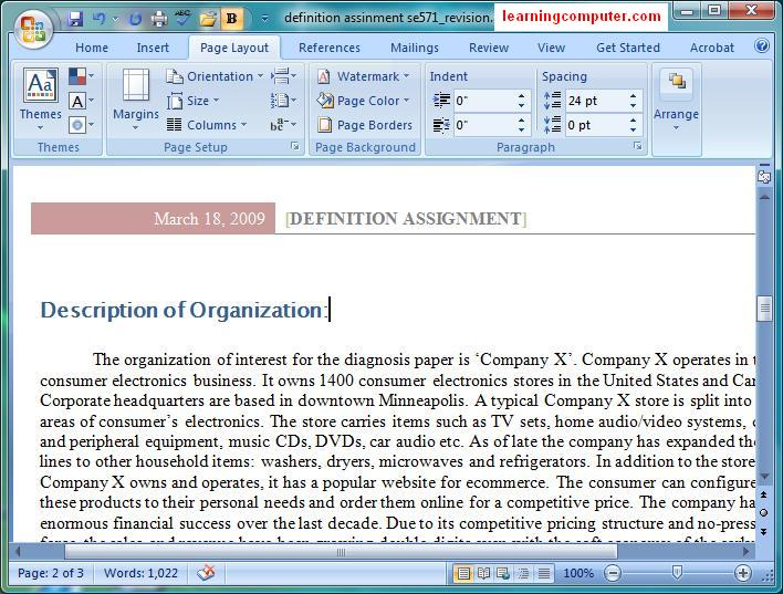 microsoft word 2007 use printer for this document
