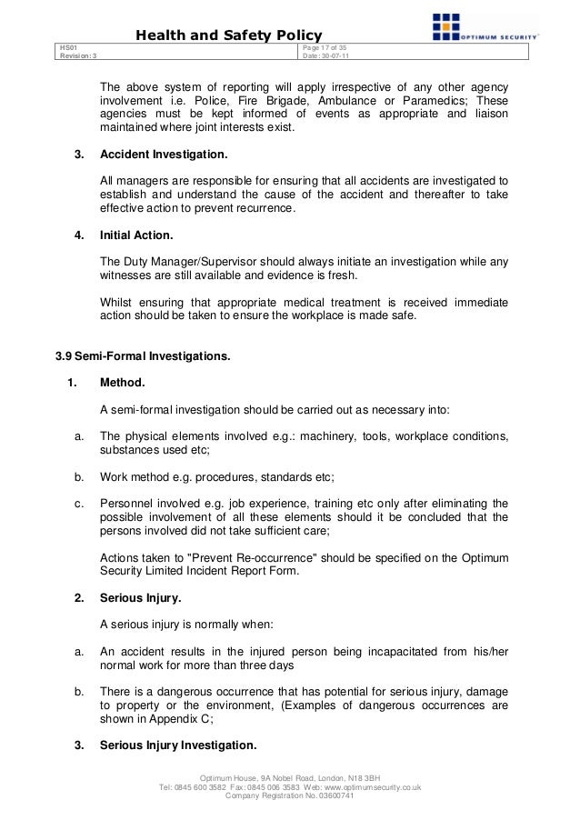 amp trauma policy wording document