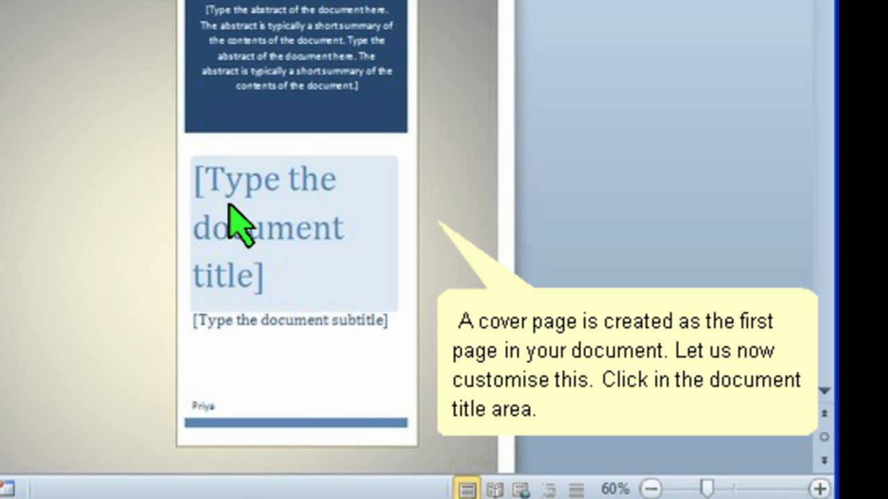 how to copyright a document in word