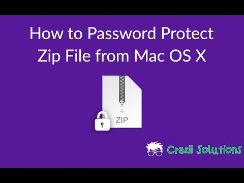 how to password protect a document on mac