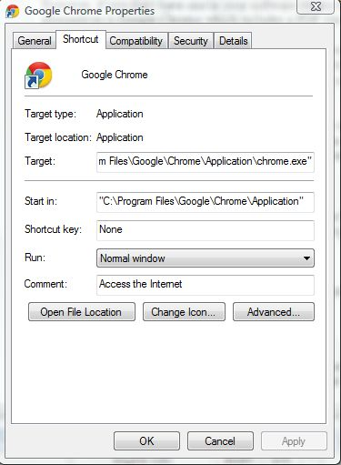 open a document in google docs with a chrome browser