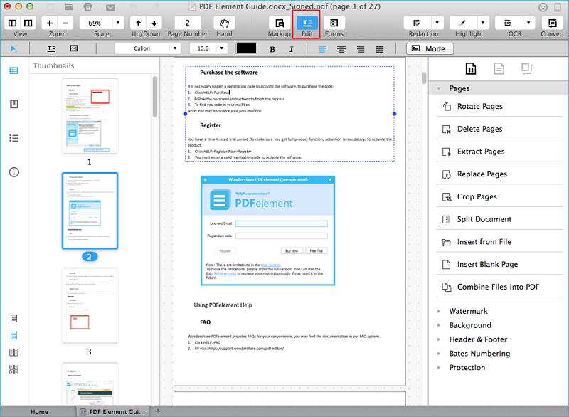pdf document text editor online