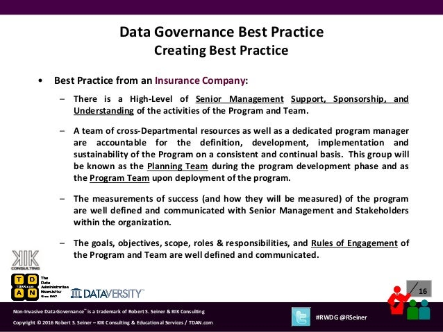 data documentation best practices