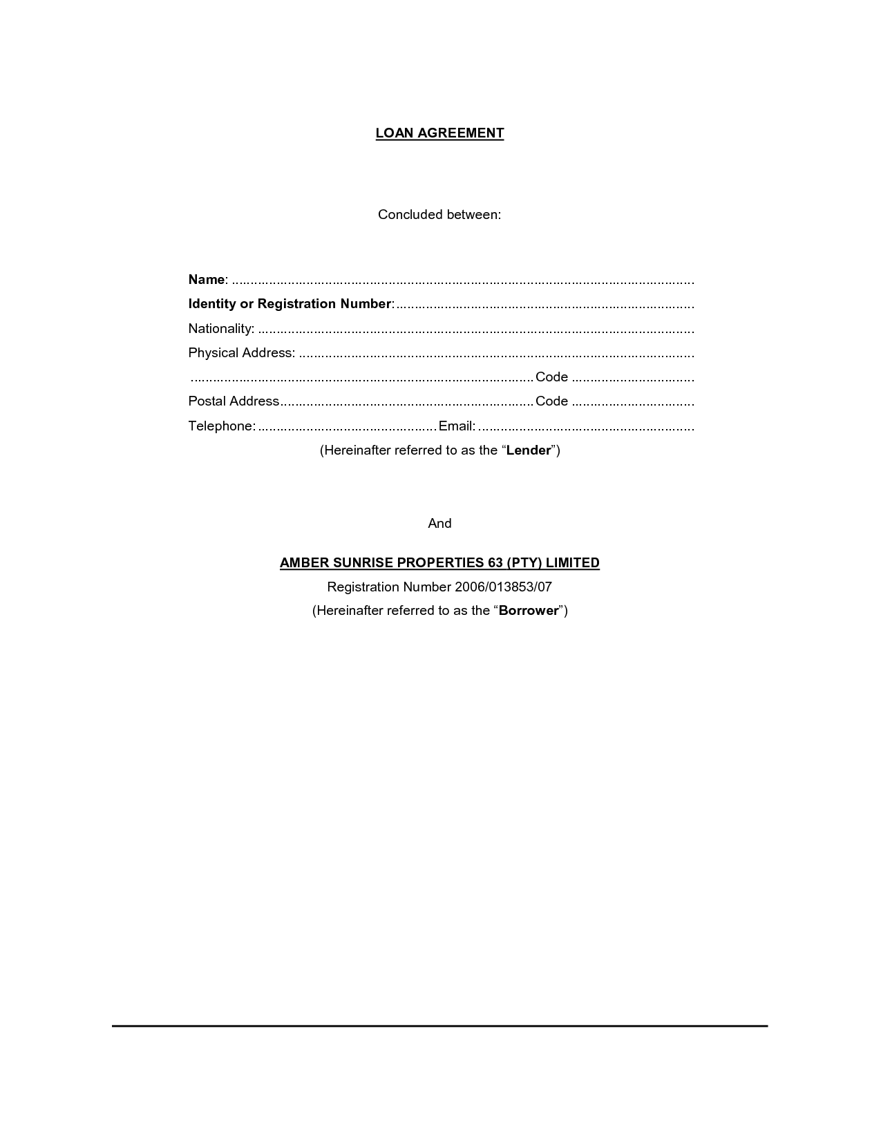 sample car insurance policy document