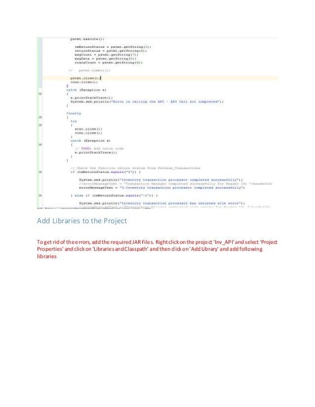how to create java documentation