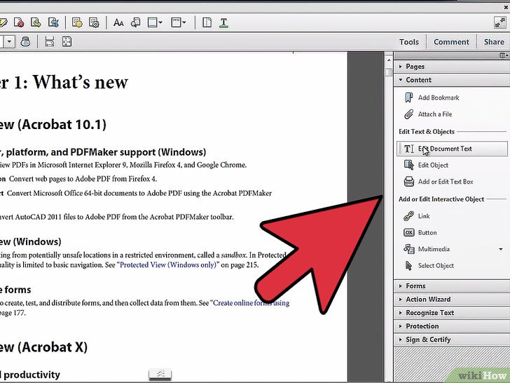 acrobat pro sign in to document