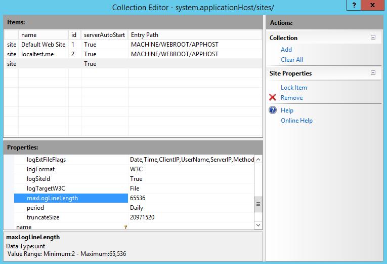 asp net web config default document