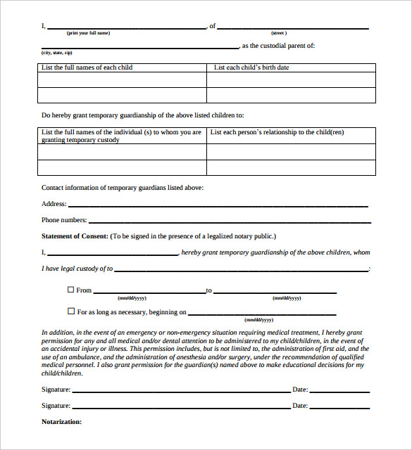 is a notarized letter a legal document