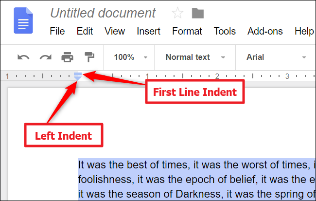 how to change margins in an exisitng document