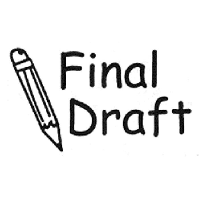 insert draft on word document