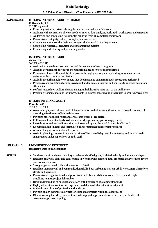 internal control documentation examples