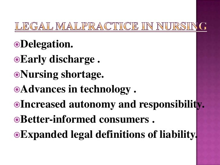 legal aspects of patient care documentation