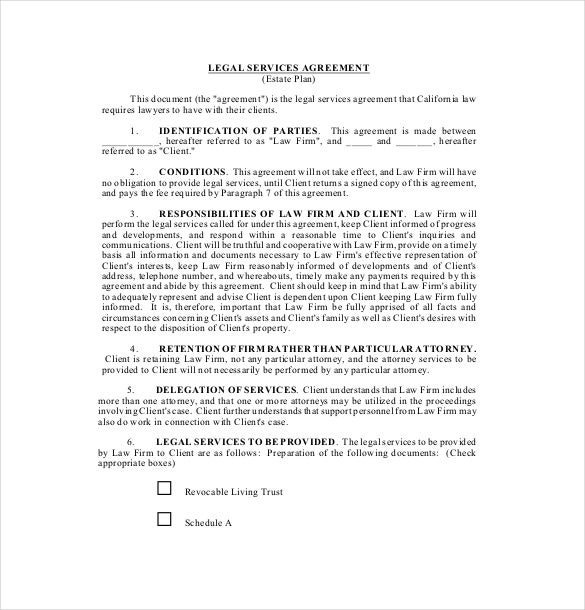 legal document agreement between two parties