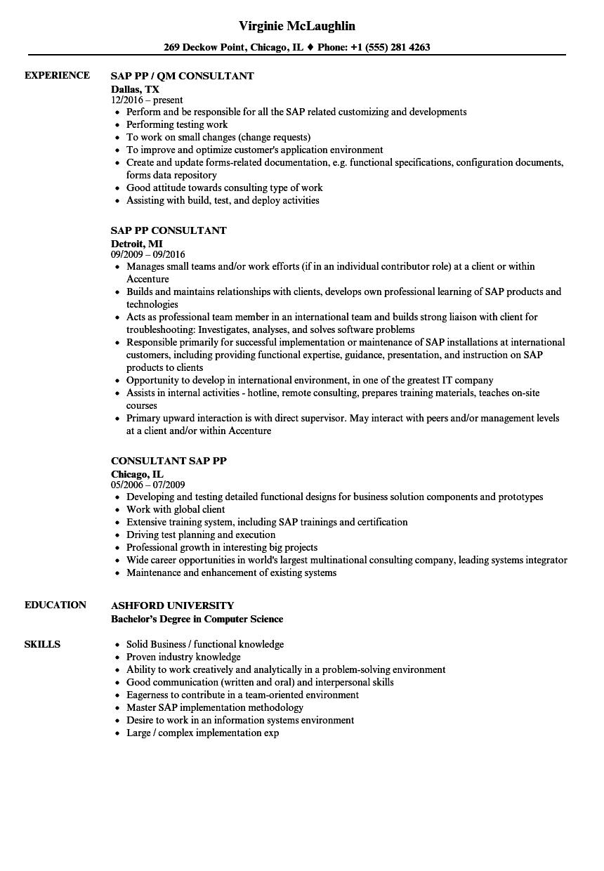 sap pp master data configuration document