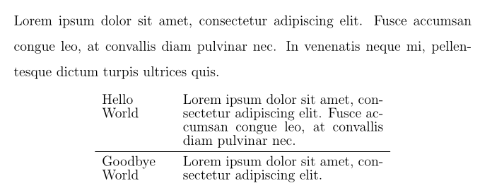 set line spacing for document latex