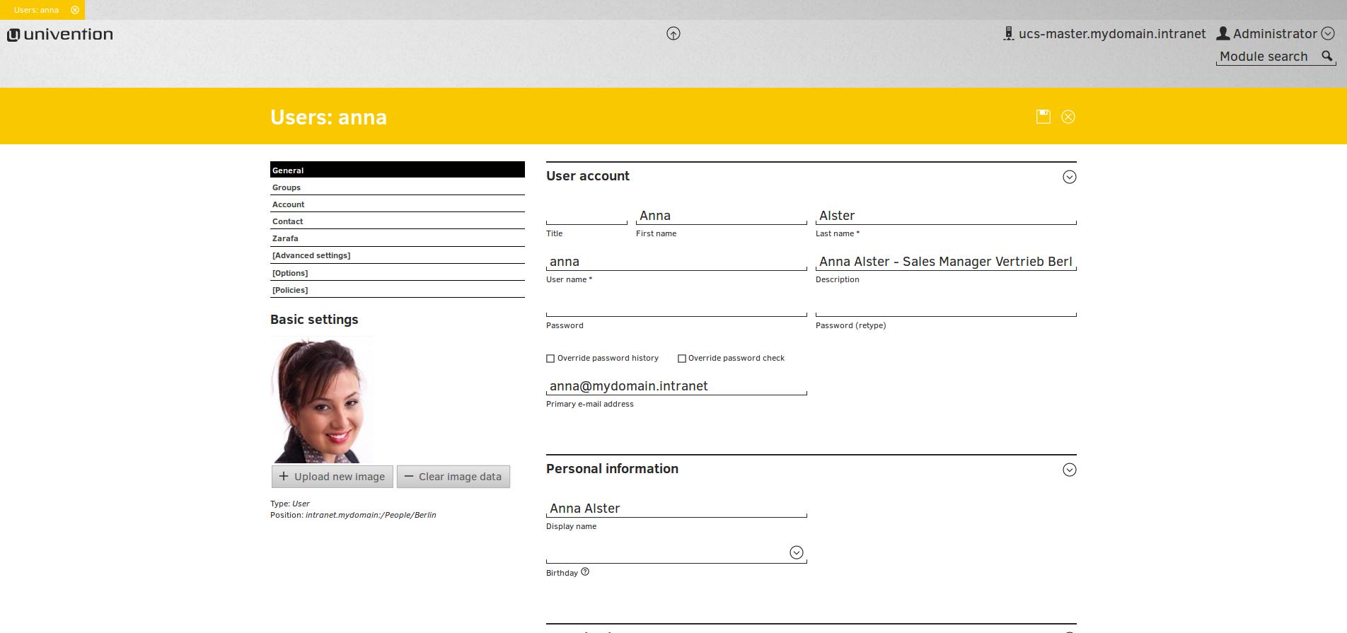 univention corporate server documentation